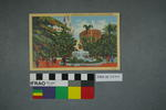 Postcard: Fountain