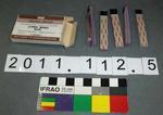 Litmus paper strips in box