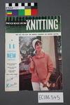 "magazine, knitting pattern:  ""Modern Knitting.  The monthly magazine for machine knitters"", September-October 1963 (NZ edition)"