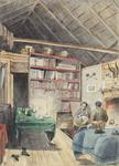 Painting: Interior of Hut