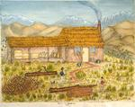 Painting: Hut on the Hurunooey