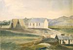 Painting: Ilam as it was in January 1852