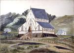 Painting: Holy Trinity Church, Lyttelton