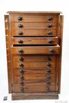 Chest, High: Chest of shallow drawers for medicines and instruments.