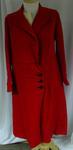 Coat: Red Wool