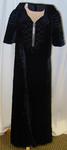 Dress: Black Velvet