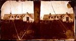 Glass Plate Negative Stereograph Slide: Land Office