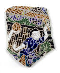 Ceramic: Hand painted in Thailand