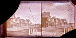 Glass Plate Negative Stereograph Slide: Colombo Street