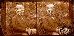Glass Plate Negative Stereograph Slide: Henry Sewell