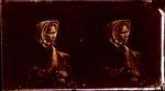 Glass Plate Negative Stereograph Slide: Miss Ann Bowen
