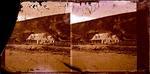 Glass Plate Negative Stereograph Slide: Sumner Hotel