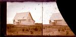 Glass Plate Negative Stereograph Slide: Harewood Church