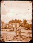 Glass Plate Negative: Alfred Charles Barker and William Barker