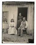 Glass Plate Negative: Mr and Mrs Collie