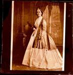 Glass Plate Negative: A Lady