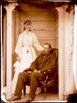 Glass Plate Negative: R K and L A Parkerson