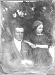 Glass Plate Ambrotype: Matt and Elizabeth Barker