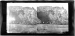Glass Plate Positive Stereograph Slide: Cave Rock