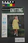 "magazine, knitting pattern:  ""Modern Knitting.  The monthly magazine for machine knitters"",  August/September 1963 (New Zealand edition)"