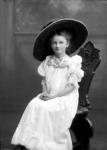 Glass Plate Negative: Miss Lu Lu Worthington. c. 1914