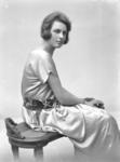 Film Negative: Miss E Weastall. Ca 1923