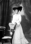 Glass Plate Negative: Miss A Chainey
