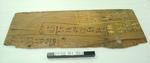 Plywood used as darts scoring board