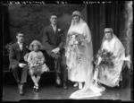 Film Negative: Mr W H Ashworth - Wedding photo