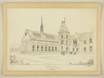Mountfort Architectural Plan: Sketch of Canterbury Museum