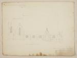 Mountfort Architectural Plan: Church of the Most Holy Trinity, Lyttelton, c 1856