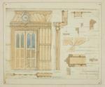 Mountfort Architectural Plan: Canterbury Provincial Council Buildings, 1885
