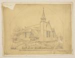 Mountfort & Luck Architectural Plan: Riccarton Church