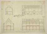 Mountfort Architectural Plan: Canterbury Museum, 1875