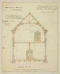 Mountfort Architectural Plan: Canterbury Museum, 1878