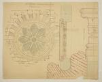 Mountfort Architectural Plan: Anglican Church of St John the Baptist, Latimer Square, Christchurch