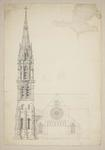 Mountfort & Luck Architectural Plan: Christchurch Cathedral
