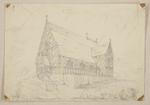 Mountfort Architectural Plan: Church of the Most Holy Trinity, Lyttelton, 1856