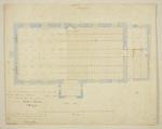 Mountfort Architectural Plan: Canterbury Museum, 1869