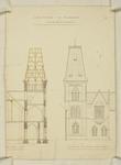 Mountfort Architectural Plan: Canterbury Museum, 1871
