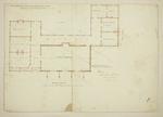 Mountfort Architectural Plan: Canterbury Provincial Council Buildings, 1855