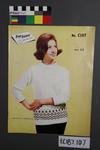 """magazine, knitting pattern: """"Fontana Knitting Book No.C107""""."""