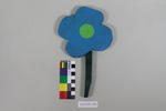 Painted Flower: Wooden