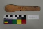 Carved wooden teaspoon