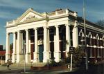 Colour Photograph: Baptist Church, Oxford Terrace and Madras Street, 1985
