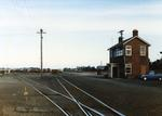 Colour Photograph: Signal Box, Middleton Rail Yards, 1985