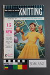 magazine, knitting pattern