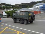 Digital Photograph: New Zealand Army Light Operational Vehicle at the Corner of Norwich Quay and Dublin Street, Lyttelton