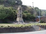 Digital Photograph: Earthquake Damage to Lyttelton Cenotaph on Simeon Quay, Lyttelton