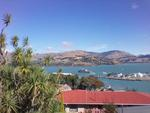 Digital Photograph: Departure of Her Majesty's New Zealand Ship Canterbury from Lyttelton
